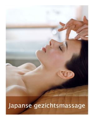japanese gezichtsmassage